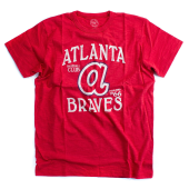 Футболка '47 Brand - Atlanta Braves Scrum Tee