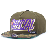 Бейсболка Official - Stay Official (gren/camo) Snapback