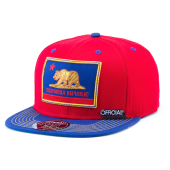 Бейсболка Official - Cali Patriot Inversed Snapback