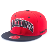 Бейсболка Mitchell & Ness - Chicago Blackhawks Classic Arch Fitted