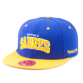 Бейсболка Mitchell & Ness - Buffalo Sabres Classic Arch Fitted