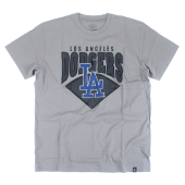 Футболка '47 Brand - Los Angeles Dodgers  Birds Eye Tee
