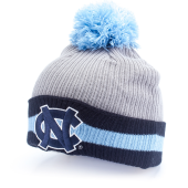 Шапка Mitchell & Ness - North Carolina Tar Heels Rebbed Stripe Knit