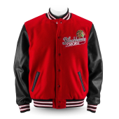 Куртка Mitchell & Ness - Chicago Blackhawks Authentic Wool Jacket