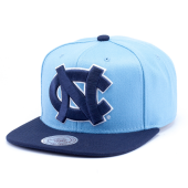 Бейсболка Mitchell & Ness - North Carolina Tar Heels XL Logo 2 Tone Snapback