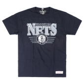 Футболка Mitchell & Ness - Brooklyn Nets Metallic Shadow Tee