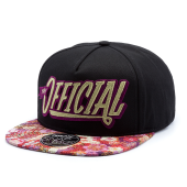 Бейсболка Official - Black Floral Stay Official