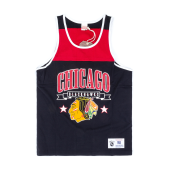 Майка Mitchell & Ness - Chicago Blackhawks Color Blocked Tank