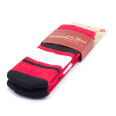 Носки Mitchell & Ness - M&N Tube Socks (red/black)