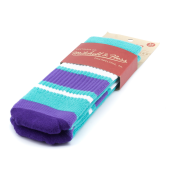 Носки Mitchell & Ness - M&N Tube Socks (teal/purple)