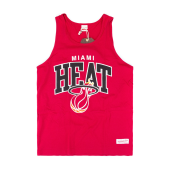 Майка Mitchell & Ness - Miami Heat Team Arch Tank (red)