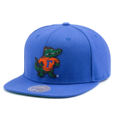 Бейсболка Mitchell & Ness - Florida Gators Wool Soild 2 Snapback