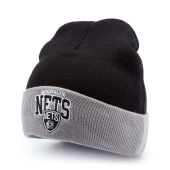 Шапка Mitchell & Ness - Brooklyn Nets Arched Cuff Knit