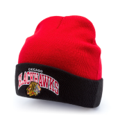 Шапка Mitchell & Ness - Chicago Blackhawks Arched Cuff Knit