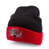 Шапка Mitchell & Ness - Chicago Bulls Arched Cuff Knit