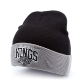 Шапка Mitchell & Ness - Los Angeles Kings Arched Cuff Knit