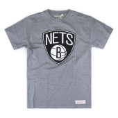 Футболка Mitchell & Ness - Brooklyn Nets Team Logo Tee