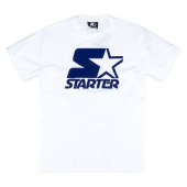 Футболка Starter Black Label - Icon Flock Tee (white/navy)