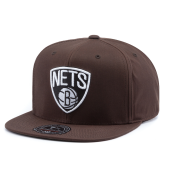 Бейсболка Mitchell & Ness - Brooklyn Nets All Purpose Camo High Crown Fitted