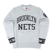 Толстовка Mitchell & Ness - Brooklyn Nets Team Celebration Crew