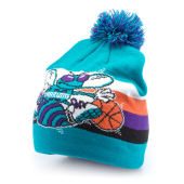 Шапка Mitchell & Ness - Charlotte Hornets Boost Team Colour Long Knit