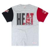 Футболка Mitchell & Ness - Miami Heat 3 In-The-Key Tee