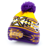 Шапка Mitchell & Ness - Los Angeles Lakers Geo-Tech Cuff Knit