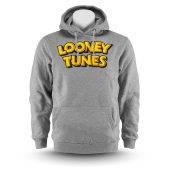 Толстовка Starter Black Label - Looney Tunes Wordmark Hoody (heather grey)