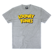 Футболка Starter Black Label - Looney Tunes Wordmark T-Shirt (heather grey)
