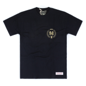 Футболка Mitchell & Ness - M&N Beveled Logo Tee (black/gold)