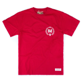 Футболка Mitchell & Ness - M&N Beveled Logo Tee (red/white)