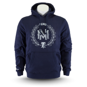 Толстовка Mitchell & Ness - M&N Beveled Logo Hoody (navy/white)