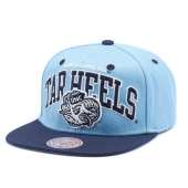 Бейсболка Mitchell & Ness - North Carolina Tar Heels Team Arch 2 Tone Snapback