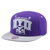 Бейсболка Mitchell & Ness - New York University Violets Team Arch 2 Tone Snapback