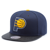 Бейсболка Mitchell & Ness - Indiana Pacers Carbon Fibre Snapback