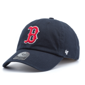 Бейсболка '47 Brand - Boston Red Sox Clean Up (navy)