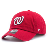Бейсболка '47 Brand - Washington Nationals Clean Up (red)