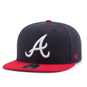 Бейсболка '47 Brand - Atlanta Braves Sure Shot 2 Tone Snapback