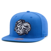 Бейсболка Mitchell & Ness - University Of North Carolina Wool Solid Snapback