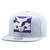 Бейсболка Mitchell & Ness - New York University Violets XL Logo Snapback