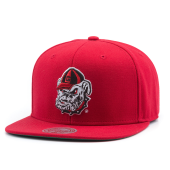 Бейсболка Mitchell & Ness - Georgia Buldogs Wool Solid Snapback
