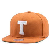 Бейсболка Mitchell & Ness - Texas Longhorns Wool Solid Snapback