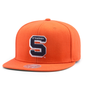 Бейсболка Mitchell & Ness - Syracuse Orange Wool Solid Snapback