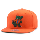 Бейсболка Mitchell & Ness - Florida Gators Wool Solid Snapback