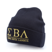 Шапка Starter Black Label - Stoned Knit (navy/gold)