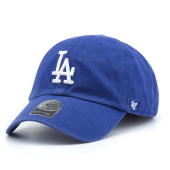 Бейсболка '47 Brand - Los Angeles Dodgers Clean Up