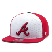 Бейсболка '47 Brand - Atlanta Braves Backboard Snapback