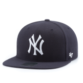 Бейсболка '47 Brand - New York Yankees No Shot Snapback (navy/white)