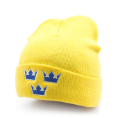 Шапка Mitchell & Ness - Sweden Team Cuffed Knit (yellow)