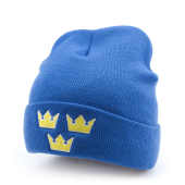 Шапка Mitchell & Ness - Sweden Team Cuffed Knit (royal)